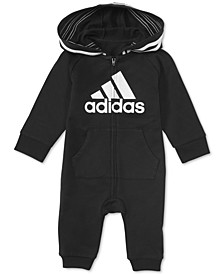 Baby Boys & Girls 1-Pc. Footless Full-Zip Coverall