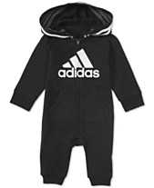 0c9ac66bc7 adidas Baby Boys 1-Pc. Footless Full-Zip Coverall