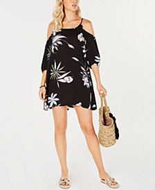 Roxy Juniors' Baliana Cold-Shoulder Cover-Up