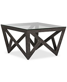 Radley Glass Top Coffee Table, Quick Ship