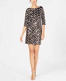 Ivanka Trump Geometric Sheath Dress