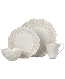 Lenox Chelse Muse Scallop 4-Pc. Place Setting