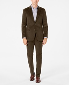 Tommy Hilfiger Men's Modern-Fit TH Flex Stretch Corduroy Suit Separates