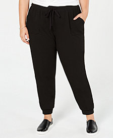 Style & Co Plus Size Relaxed Joggers, Created for Macy's