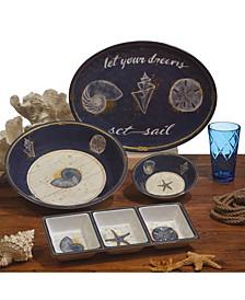Calm Seas Melamine Dinnerware Collection
