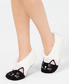 Charter Club Women's Cat Slipper Socks, Created for Macy's