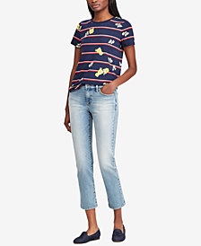 Ralph Lauren Petite Cotton Top