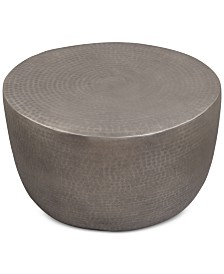 Nova Metal Drum Coffee Table
