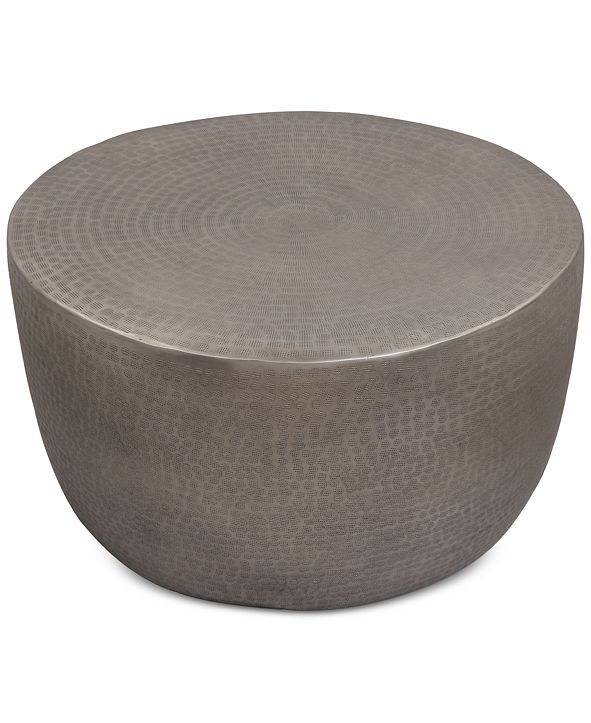 Furniture Nova Metal Drum Coffee Table