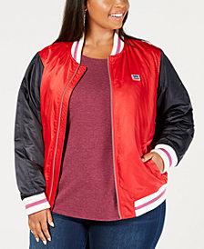 Levi's® Plus Size Varsity Bomber Jacket