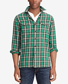 Polo Ralph Lauren Men's Big & Tall Classic-Fit Plaid Workshirt