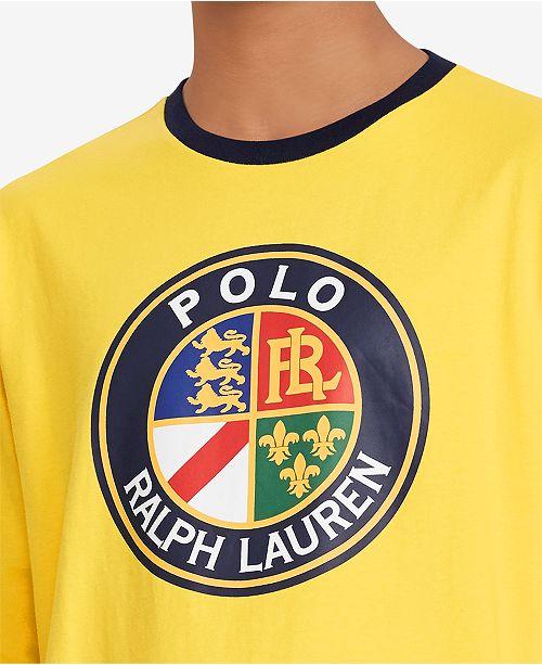 32709095b215d Polo Ralph Lauren Downhill Skier Men s Graphic Long-Sleeve T-Shirt ...