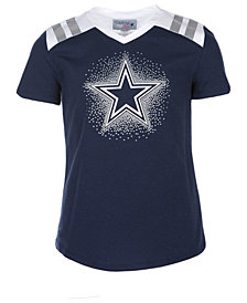 Authentic NFL Apparel Dallas Cowboys Decker T-Shirt, Girls (4-16)