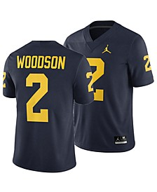 Men's Charles Woodson Michigan Wolverines Player Game Jersey
