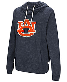 Colosseum Women's Auburn Tigers Speckled Fleece Hooded Sweatshirt