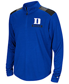Colosseum Duke Blue Devils 99 Yards Quarter-Zip Pullover, Big Boys (8-20)