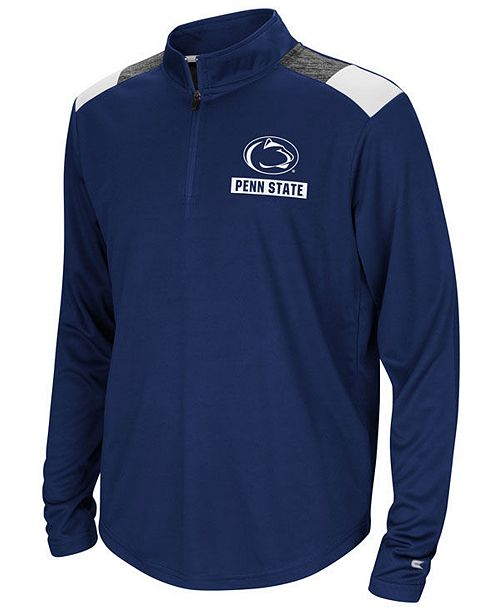 Colosseum Penn State Nittany Lions 99 Yards Quarter-Zip Pullover ... 1280908f1