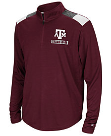 Colosseum Texas A&M Aggies 99 Yards Quarter-Zip Pullover, Big Boys (8-20)