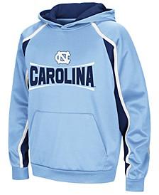 North Carolina Tar Heels Poly Pullover Hoodie, Big Boys (8-20)