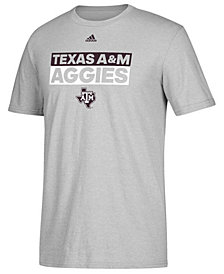 adidas Men's Texas A&M Aggies Performance Wordstack T-Shirt