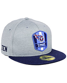 New Era Boys' Tennessee Titans Sideline Road 59FIFTY FITTED Cap