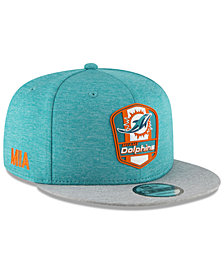 New Era Boys' Miami Dolphins Sideline Road 9FIFTY Cap