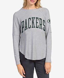 Junk Food Women's Green Bay Packers Thermal Long Sleeve T-Shirt