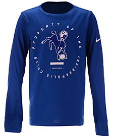 Nike Indianapolis Colts Prop Of Long Sleeve T-Shirt, Big Boys (8-20)