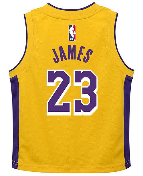 buy online 67944 af817 Nike LeBron James Los Angeles Lakers Icon Replica Jersey ...
