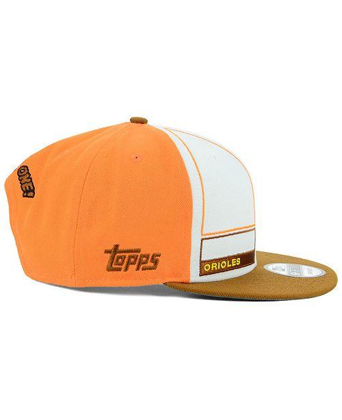 sports shoes e6480 77a65 ... New Era Baltimore Orioles Topps 1983 9FIFTY Snapback Cap ...