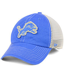 '47 Brand Detroit Lions Canyon Mesh CLEAN UP Cap