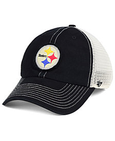 '47 Brand Pittsburgh Steelers Canyon Mesh CLEAN UP Cap