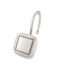 Shower Hooks - Square - Brush Nickel