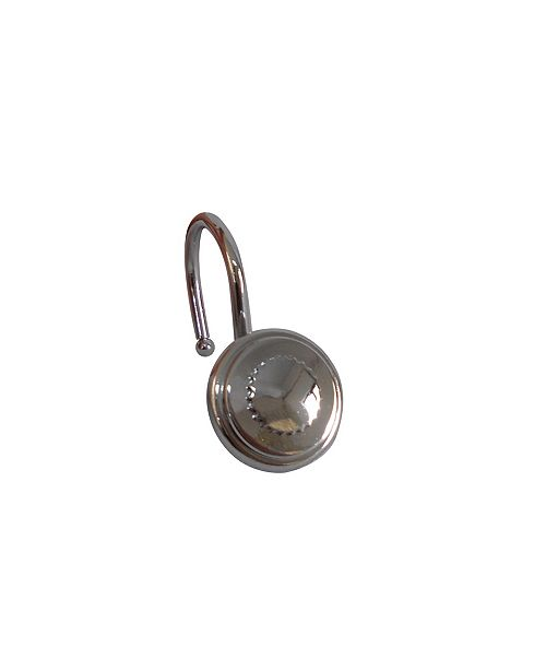 Elegant Home Fashions Shower Hooks - Bottle Cap - Chrome Finish