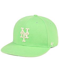 '47 Brand New York Mets Island Snapback Cap
