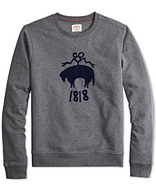 Brooks Brothers Men's French Terry Flocked Sweatshirt