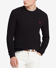 Polo Ralph Lauren Men's Cashmere Wool Blend Cable-Knit Sweater