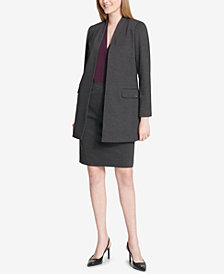 Calvin Klein Topper Jacket & Pencil Skirt
