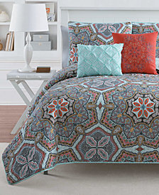 VCNY Home Yara Reversible 4-Pc. Twin XL Quilt Set