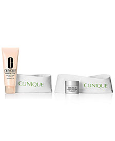 GET MORE! Choose your FREE 2-Pc. gift with any $55 Clinique purchase! (A $100 total gift value!)