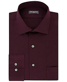 Van Heusen Men's Slim-Fit Flex Collar Stretch Solid Dress Shirt