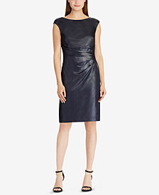 Lauren Ralph Lauren Metallic Sheath Dress