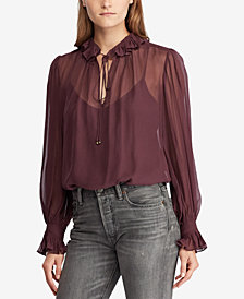 Polo Ralph Lauren Peasant Top