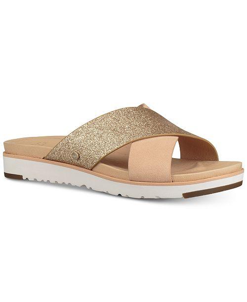 e54151b3bd25 UGG® Women s Kari Glitter Slide Sandals   Reviews - Sandals   Flip ...