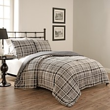 Beautyrest Casimir Plaid 3 Piece Comforter Set