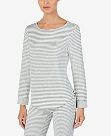 Lauren Ralph Lauren Striped Pajama Top