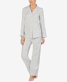 Lauren Ralph Lauren Petite Striped Pajama Set