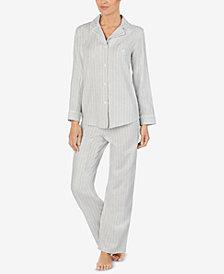 Lauren Ralph Lauren Petite Striped Pajama Set