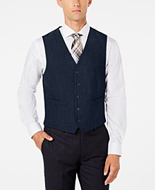 Men's Modern-Fit Stretch Solid Vest, Created for Macy's