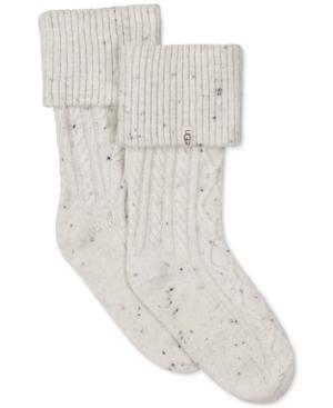 Ugg Women's Short Sienna Rain Boot Socks In Natural